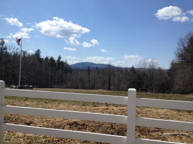 A New Englander spring scene