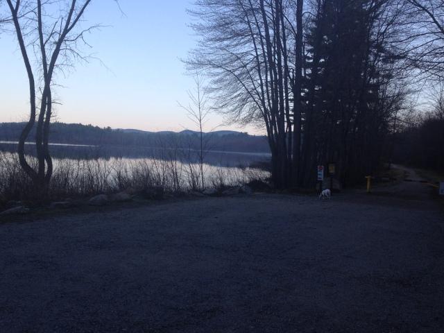 A New Englandermormorning lake