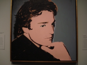 Jamie Wyeth by Andy Warhol