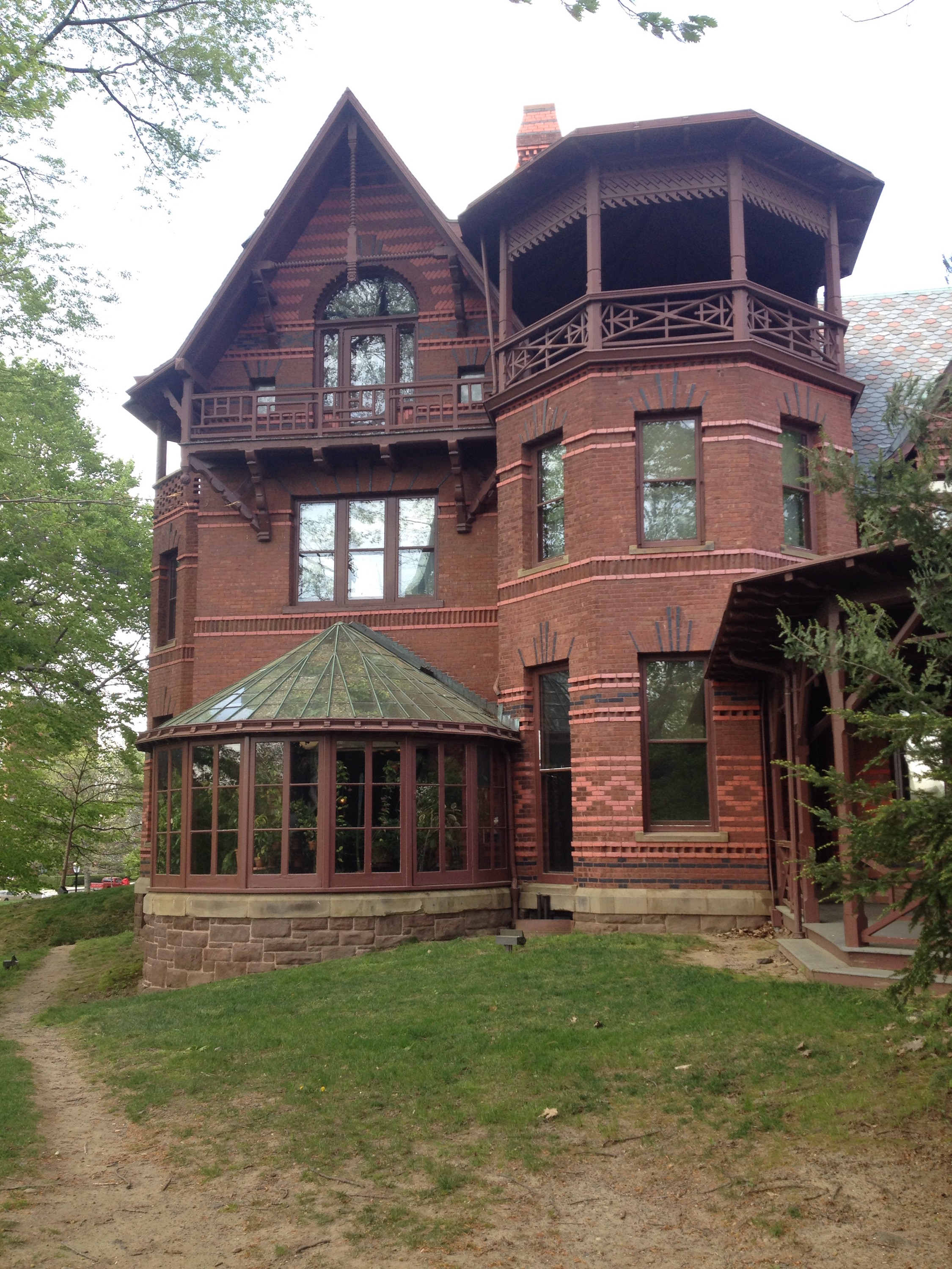 Mark Twain House In Hartford Ct A New Englander 39 S Life